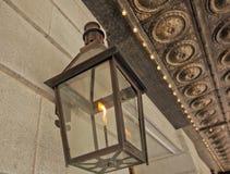 Palo della luce del gas in Crescent City Fotografia Stock