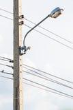 Palo della luce della via Fotografie Stock