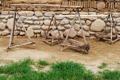 Palo della spalla Fotografie Stock