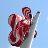 Palo di bandiera Immagini Stock