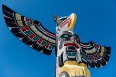 Palo di totem immagini stock libere da diritti