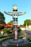 Palo di totem della replica del Canada immagini stock libere da diritti