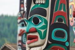 Palo di totem a Nord America immagine stock libera da diritti