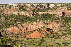 Palo Duro Canyon. View of Palo Duro Canyon from the rim Stock Photo