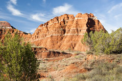 Palo Duro Canyon. Sandstone formations in Palo Duro Canyon State Park in Texas Royalty Free Stock Image