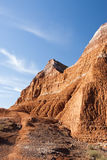 Palo Duro Canyon. Sandstone formations in Palo Duro Canyon State Park in Texas Stock Image