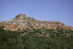 Palo Duro Canyon fotografia stock libera da diritti