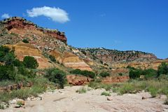 Palo Duro Canyon Royalty Free Stock Photos