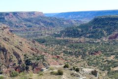 Palo Duro Canyon Photos libres de droits