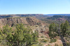 Palo Duro Canyon - 2 Photographie stock