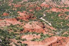 Palo Duro Canyon Fotografia Stock