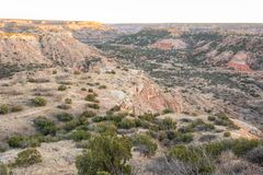 Palo Duro Canyon dans le Texas photographie stock
