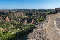 Palo Duro Canyon State Park Amarillo TX stock foto