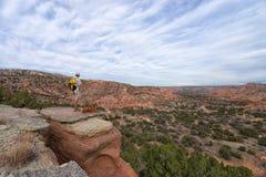 Palo Duro Canyon Texas Fotografía de archivo libre de regalías