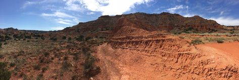 Palo Duro Canyon, Texas Stock Afbeelding