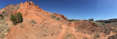 Palo Duro Canyon, Texas Royalty-vrije Stock Afbeeldingen