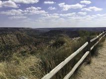 Palo Duro jar Teksas Zdjęcia Stock