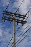 Palo elettrico Immagini Stock