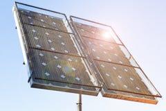 Palo solare Immagine Stock Libera da Diritti