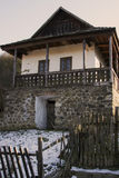 Paloc ethnographic house in Holloko Stock Images