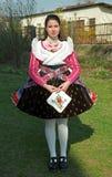 Paloc girl at Easter, Bujak, Hungary Stock Images