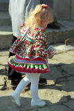 Paloc girl at Easter, Bujak, Hungary Stock Images