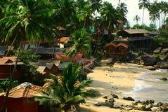 palolem Индии goa пляжа Стоковое Фото