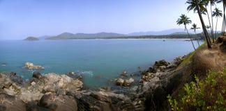 palolem лагуны goa пляжа Стоковые Фото