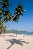 Palolem beach. Tropical beach of Palolem, Goa state, India Royalty Free Stock Image