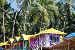Palolem beach.Goa.India. Stock Photography