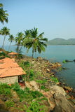 Palolem Beach lagoon, Goa Stock Image