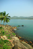 Palolem Beach lagoon, Goa Royalty Free Stock Photo