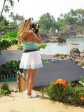 Palolem beach. South Goa, India Stock Images