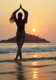 Palolem beach. South Goa, India Royalty Free Stock Photo