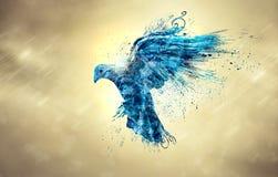 Paloma azul libre illustration