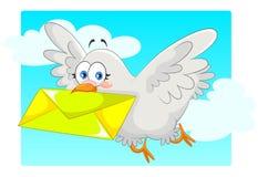 Paloma de Hooming stock de ilustración