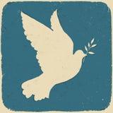 Paloma de la paz. ilustración del vector