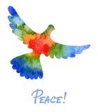 Paloma de la paz stock de ilustración