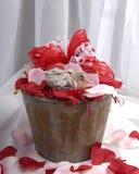 Paloma de la tarjeta del día de San Valentín fotografía de archivo