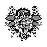 Paloma modelada Tatuaje Design Imágenes de archivo libres de regalías