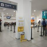 El Palomar International and Domestic Airport royalty free stock image