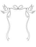 Palomas del amor Imagen de archivo libre de regalías