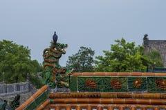 Palomas en el tejado imagen de archivo