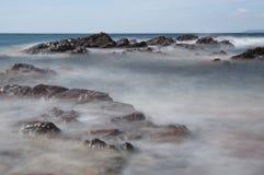 Palombaggia beach, Corsica Stock Photo