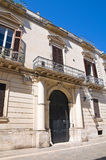 Palombi Palace. Lecce. Puglia. Italy. Royalty Free Stock Photos