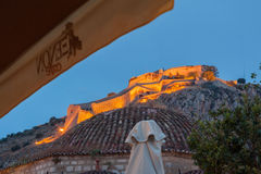 Palomidi Fortress Nafplio Greece Royalty Free Stock Photography