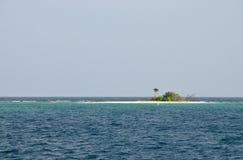Palominito - eine tropische kleine Insel Lizenzfreies Stockfoto