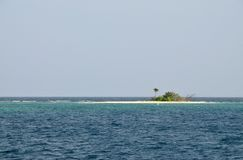 Palominito - A Tropical Islet Royalty Free Stock Photo