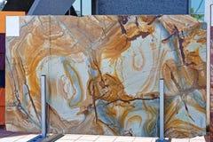 Palomino Granite Stock Photo
