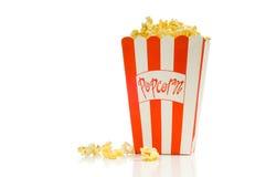 Palomitas de la película Imagen de archivo